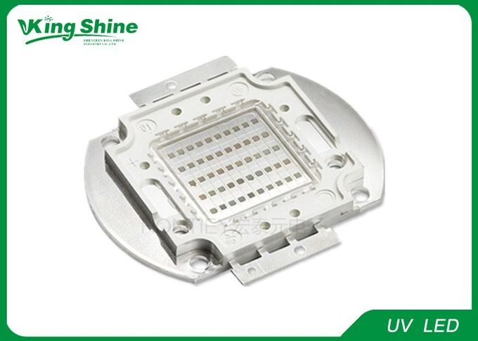 Brightest 365nm UV Led Curing 50 Watt Led Chip With Long Lifespan